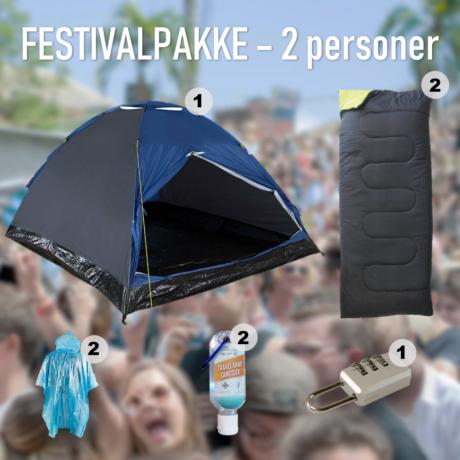 Festivalpakke – 2 personer