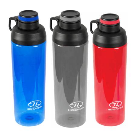 Drikkedunk – 850ml – blå, grå, rød